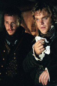 Matt Damon and Heath Ledger as the Brothers Grimm.