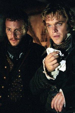 Matt Damon and Heath Ledger as the Brothers Grimm.