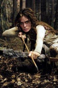 Lena Headey as the Huntress.