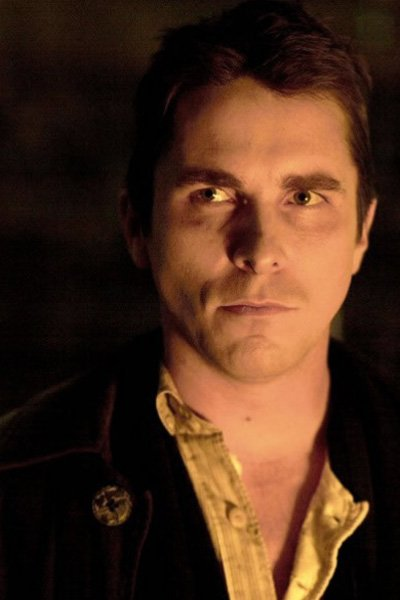 Christian Bale as Alfred Borden / The Professor / Bernard Fallon.