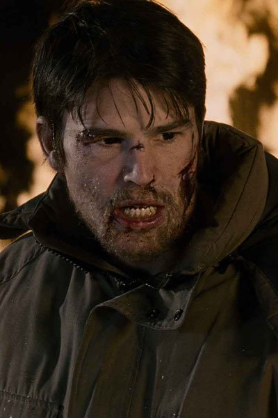 Josh Hartnett in 30 Days of Night.