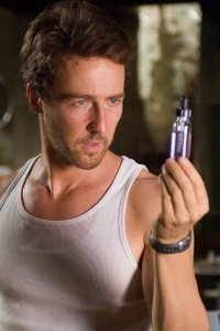 Edward Norton as Bruce Banner.