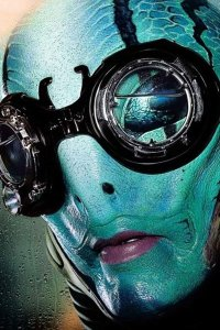 Doug Jones as Abe Sapien.