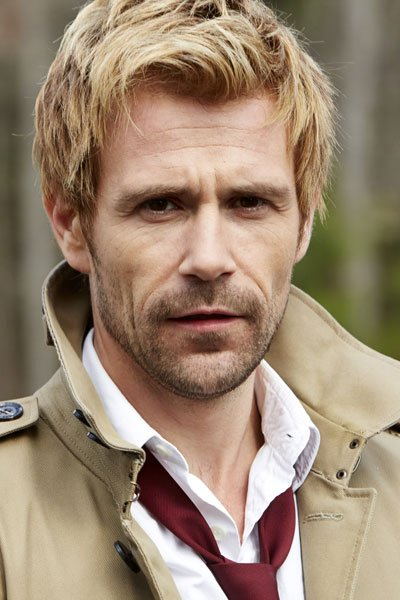 Matt Ryan as the worldweary mage John Constantine.