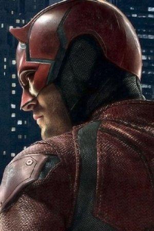 Charlie Cox as Daredevil.