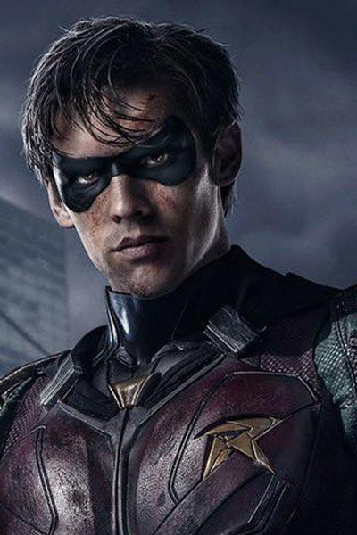 Brenton Thwaites as Robin / Dick Grayson.