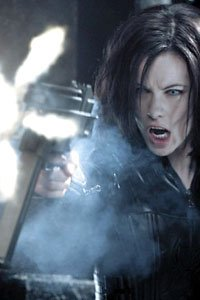 Kate Beckinsale as the lovely and lethal vampire Selene