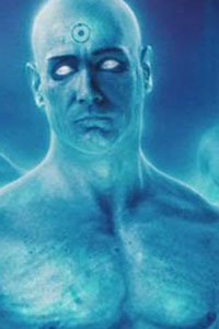 Billy Crudup as Dr. Manhattan.