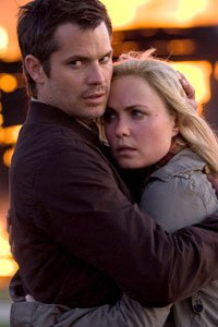 Timothy Oliphant and Radha Mitchell from The Crazies