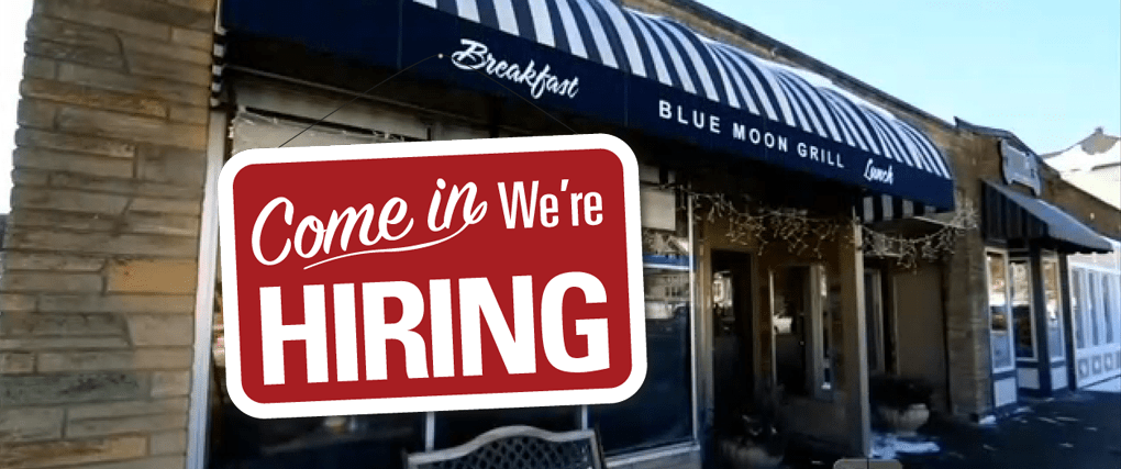 Blue Moon Grill in Wakefield MA is Now Hiring!