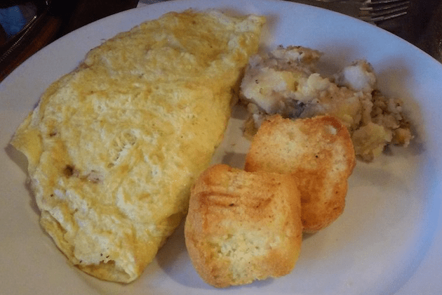 Mexican Omelette - Blue Moon Grill Wakefield via Yelp by Gregor H.