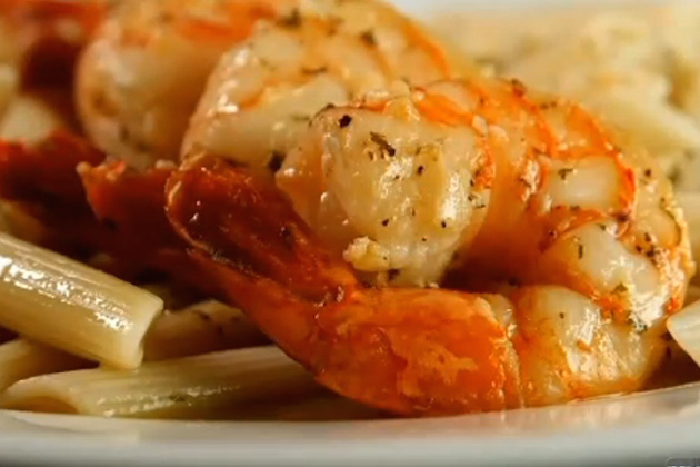 Shrimp Scampi close up- Blue Moon Grill Wakefield MA