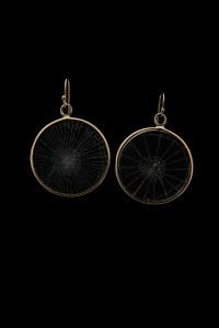 Spiderweb Earrings, Large | Blue Morpho Jewelry