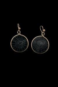 Spiderweb Earrings, Small | Blue Morpho Jewelry