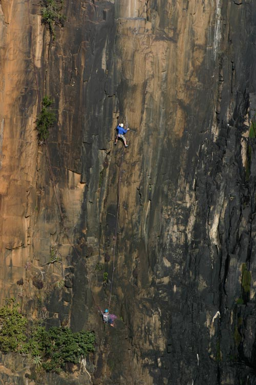 Guided Climbing South Africa_Howick Falls3