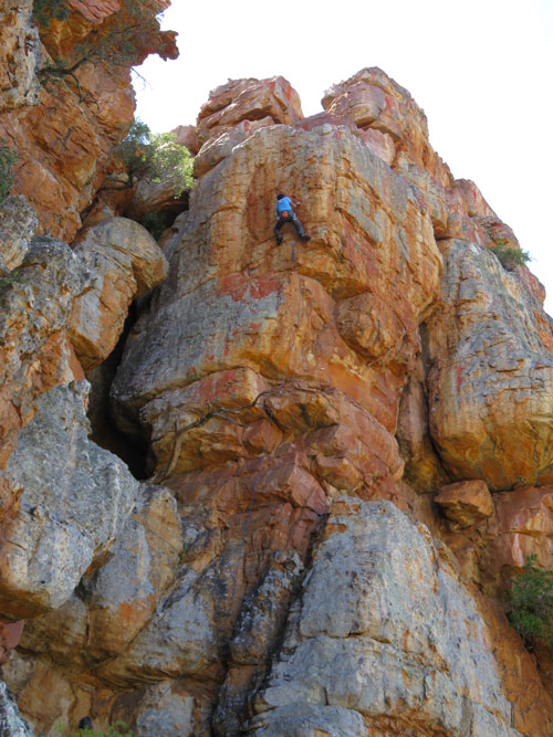 Guided Climbing South Africa_Wolfberg_7