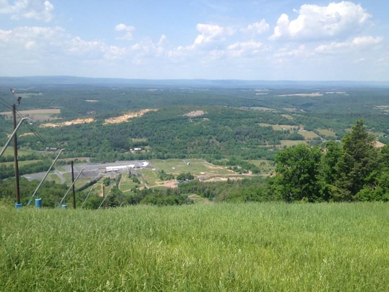 Razor's Edge, best view on the mountain.