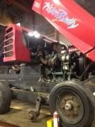 Engine repair.