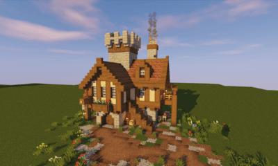 BlueNerd Minecraft Tutorials Inspirational Builds and More BlueNerd