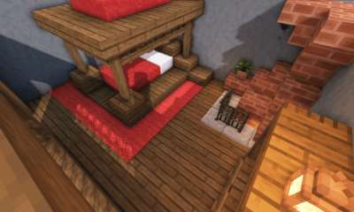 Minecraft: 5 Medieval Bedroom Designs Ideas For 1 14 BlueNerd