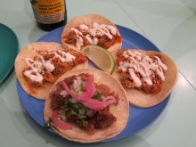 Second course tacos