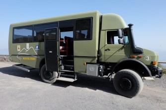 Vehicle to get up Mount Vesuvius