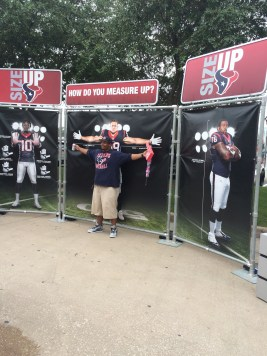 Outside the Texans game