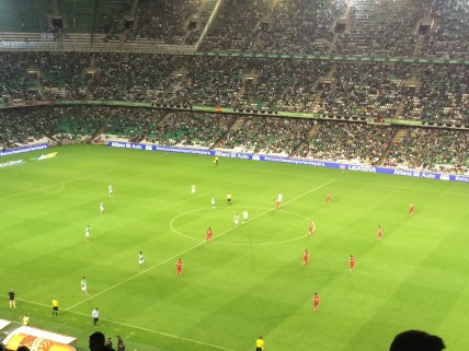 Real Betis match in Seville