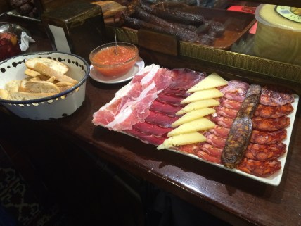 Meat heaven at Taberna Alhambra