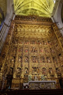 Main alter in Seville Cathedral