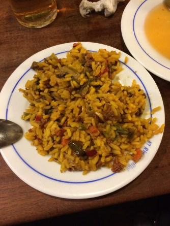 Rice dish at El Rinconcillo