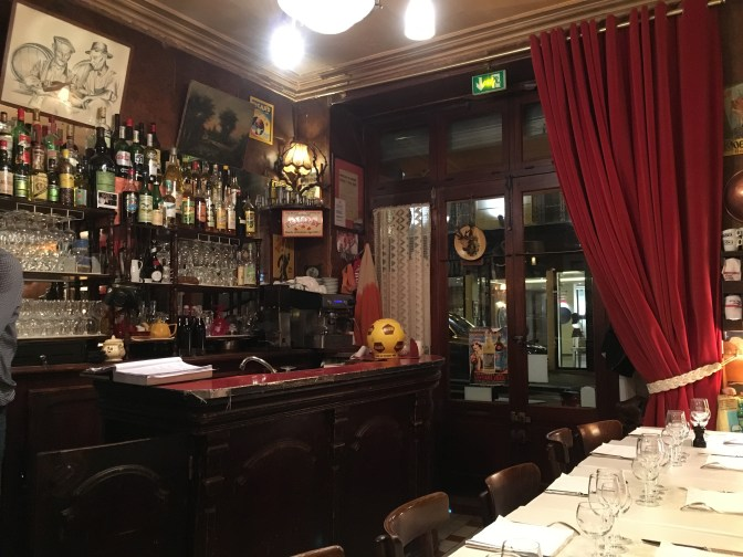 At Chez Marcel, Paris