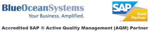 Blue Ocean Systems SAP B1 AQM Amplified Logo