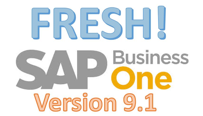 SAP B1 Ver 9 1– Business Logic and Localisation Enhancements (Part I