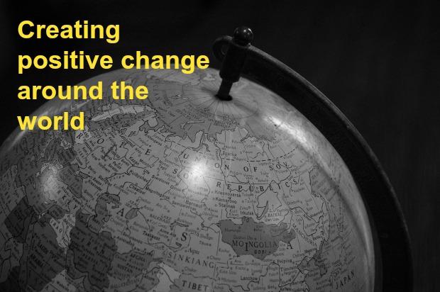 Positive Change around the world 29 Nov 2013