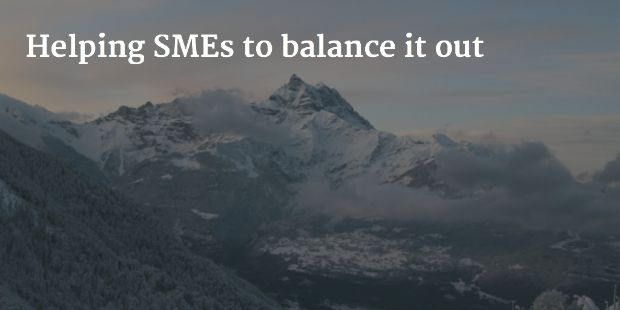 Helping SMEs to balance it out