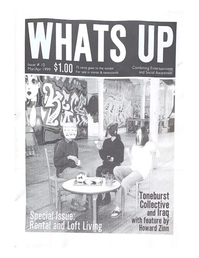 What's Up Magazine Issue #10 March April 1999, $1. Front Cover: Special Issue: Rental and Loft Living