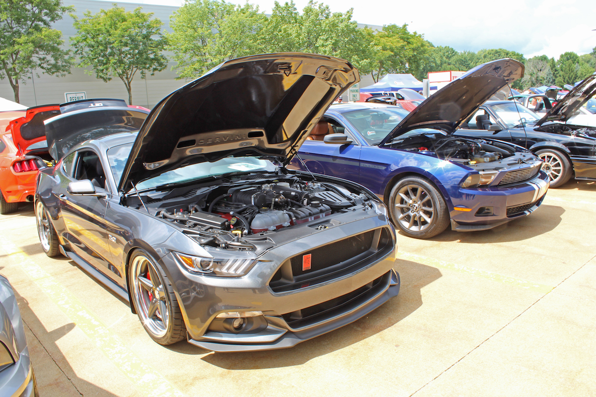 Blue Oval Muscle - Summit car show