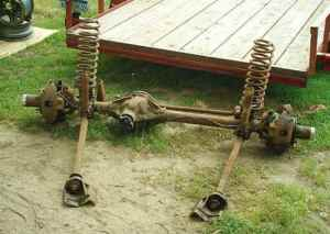 The Driver Side Differential Dana 44