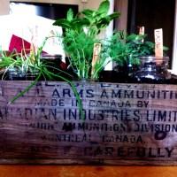 Rustic Herb Box