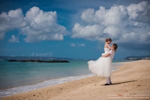 Расположение свадебная фотография Окинава Японии