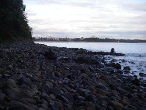 Johnsons Point back to Main Beach will all light up later today.
