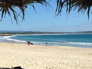 Main Beach Noosa a day for beach cruising .