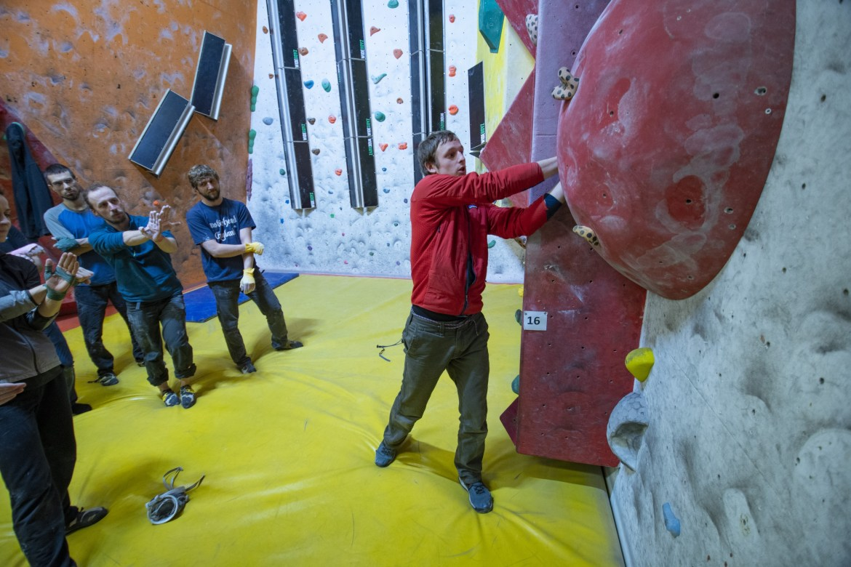 Pete Whittaker Crack Climbing