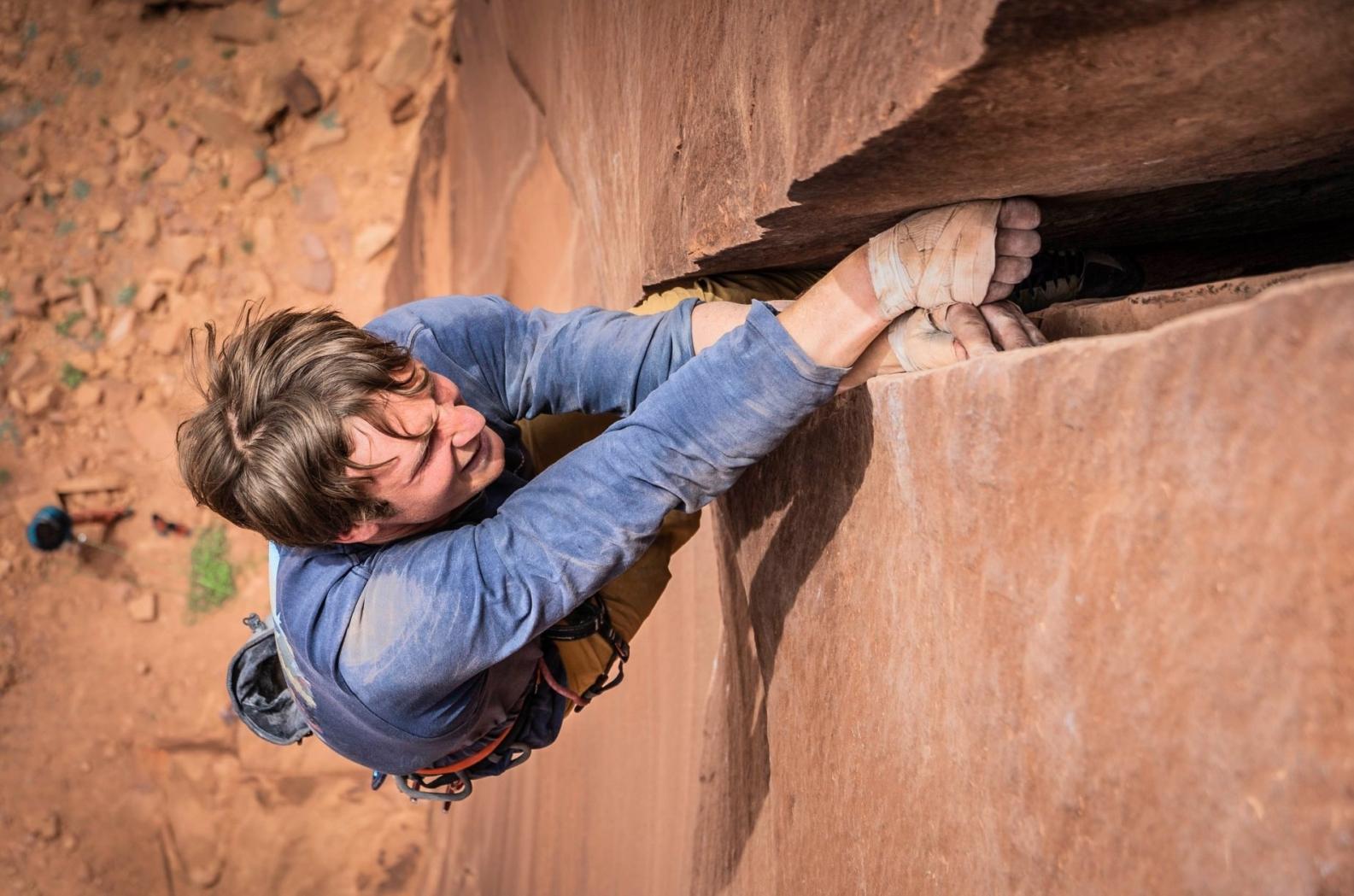 Climber P Whittaker