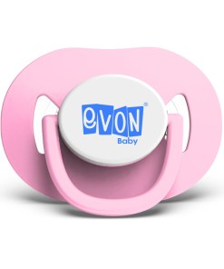 EVON Thumb Shaped M Pacifier with cover