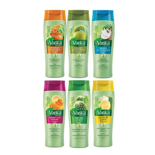 Vatika Shampoo 400ml + 132ml free