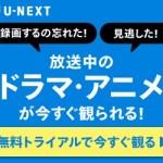 ビデオオンデマンドで動画を見るなら【 U-NEXT (ユーネクスト) 】31日間無料トライアルお申込み !!の紹介
