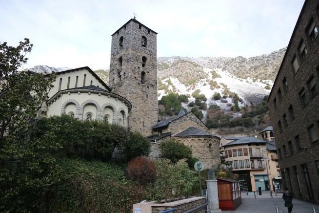 アンドラのサン・エステバ教会