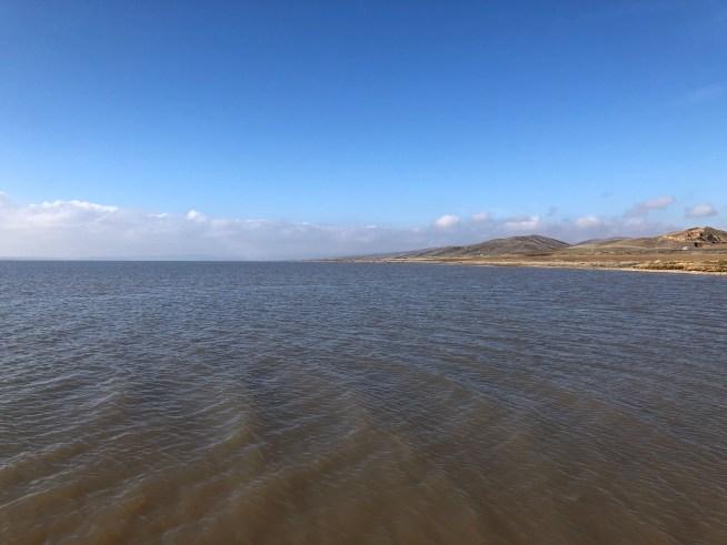 2月のトゥズ湖